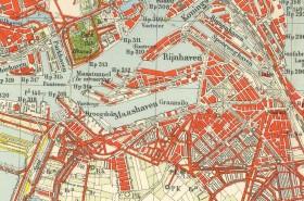 Kaart Rotterdam_1940