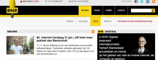 WHOISJW? op BNR Nieuwsradio