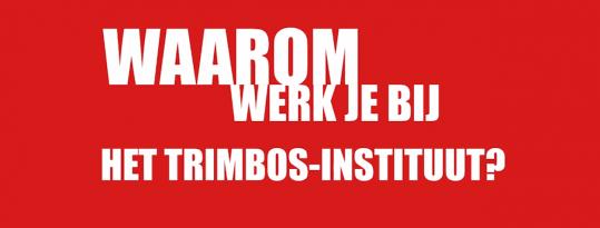 Werken bij het Trimbos-instituut