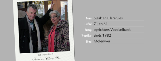 Gezichten van Vreewijk: Sjaak en Clara Sies