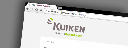 Website Kuiken Praktijkmanagement