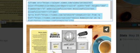 Video responsive embedden in je website