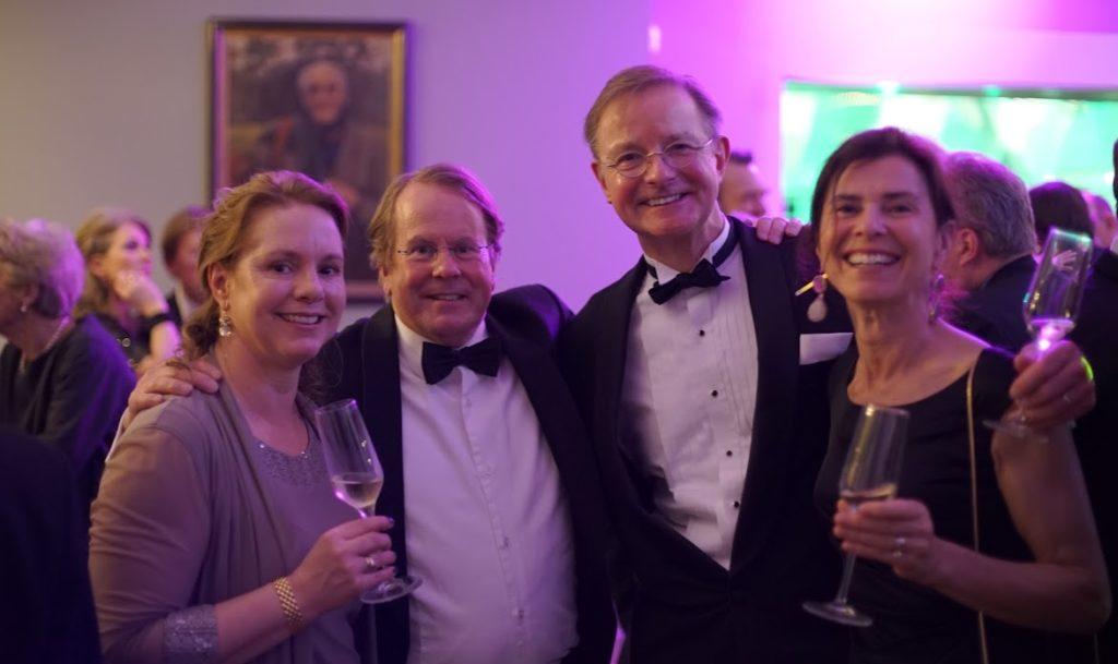 Hilversum Golf Club feest, toast
