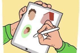 iPad tekenen