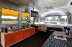 Airstream hotelbed